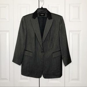 EXPRESS Dark Gray Blazer 13/14